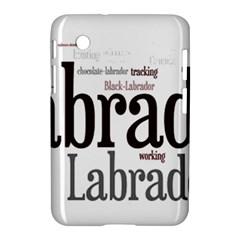 Lab Mashup Samsung Galaxy Tab 2 (7 ) P3100 Hardshell Case
