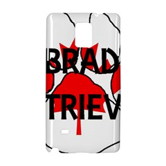 Lab Name Canadian Flag Paw Samsung Galaxy Note 4 Hardshell Case