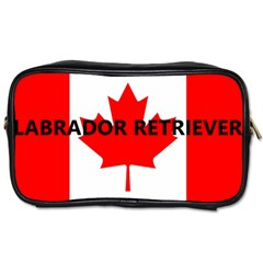 Lab Name Canadian Flag Toiletries Bags