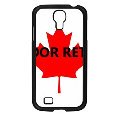Lab Name Canadian Flag Samsung Galaxy S4 I9500/ I9505 Case (Black)