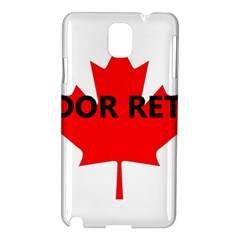 Lab Name Canadian Flag Samsung Galaxy Note 3 N9005 Hardshell Case