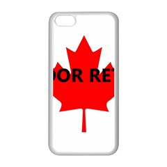 Lab Name Canadian Flag Apple iPhone 5C Seamless Case (White)