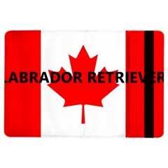 Lab Name Canadian Flag iPad Air 2 Flip