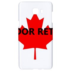 Lab Name Canadian Flag Samsung C9 Pro Hardshell Case