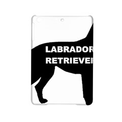 Labrador Retriever Black Name Color Silo iPad Mini 2 Hardshell Cases