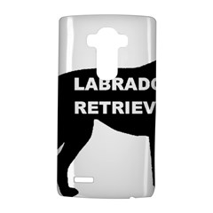 Labrador Retriever Black Name Color Silo LG G4 Hardshell Case