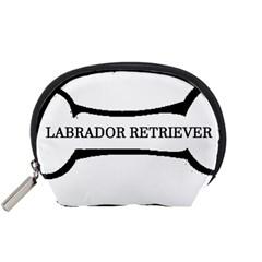 Labrador Retriever Dog Bone Accessory Pouches (Small)