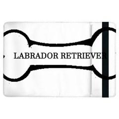 Labrador Retriever Dog Bone iPad Air Flip