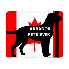 Labrador Retriever Name Silo Canadian Flag Samsung Galaxy Tab Pro 8.4  Flip Case