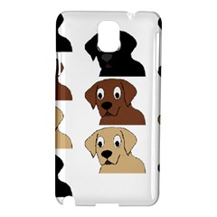Labs 3 Colors Cartoon Head Samsung Galaxy Note 3 N9005 Hardshell Case