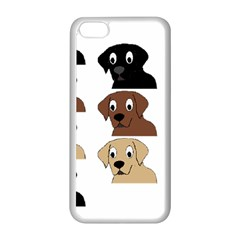 Labs 3 Colors Cartoon Head Apple iPhone 5C Seamless Case (White)
