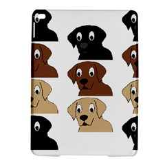 Labs 3 Colors Cartoon Head iPad Air 2 Hardshell Cases