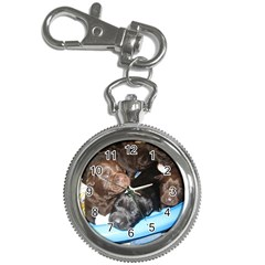 Litter Of Lab Pups Key Chain Watches