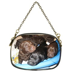 Litter Of Lab Pups Chain Purses (One Side)