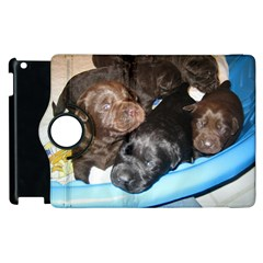 Litter Of Lab Pups Apple iPad 2 Flip 360 Case