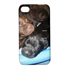 Litter Of Lab Pups Apple iPhone 4/4S Hardshell Case with Stand
