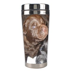 Litter Of Lab Pups Stainless Steel Travel Tumblers