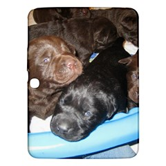 Litter Of Lab Pups Samsung Galaxy Tab 3 (10.1 ) P5200 Hardshell Case