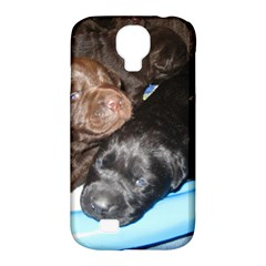 Litter Of Lab Pups Samsung Galaxy S4 Classic Hardshell Case (PC+Silicone)