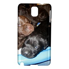 Litter Of Lab Pups Samsung Galaxy Note 3 N9005 Hardshell Case