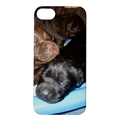 Litter Of Lab Pups Apple iPhone 5S/ SE Hardshell Case