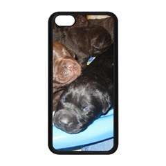 Litter Of Lab Pups Apple iPhone 5C Seamless Case (Black)