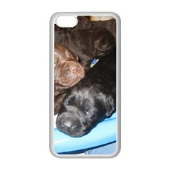 Litter Of Lab Pups Apple iPhone 5C Seamless Case (White)