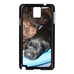 Litter Of Lab Pups Samsung Galaxy Note 3 N9005 Case (Black)
