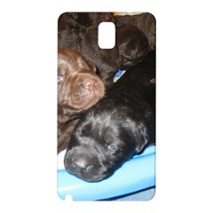 Litter Of Lab Pups Samsung Galaxy Note 3 N9005 Hardshell Back Case