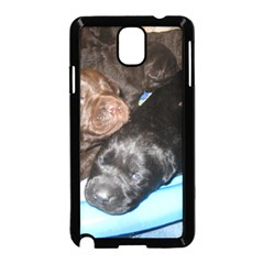 Litter Of Lab Pups Samsung Galaxy Note 3 Neo Hardshell Case (Black)