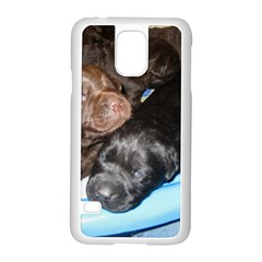 Litter Of Lab Pups Samsung Galaxy S5 Case (White)
