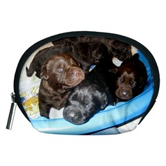 Litter Of Lab Pups Accessory Pouches (Medium)