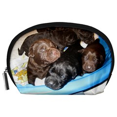 Litter Of Lab Pups Accessory Pouches (Large)