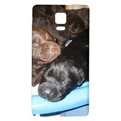 Litter Of Lab Pups Galaxy Note 4 Back Case