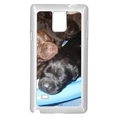 Litter Of Lab Pups Samsung Galaxy Note 4 Case (White)