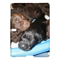 Litter Of Lab Pups Samsung Galaxy Tab S (10.5 ) Hardshell Case