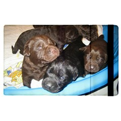 Litter Of Lab Pups Apple iPad Pro 12.9   Flip Case