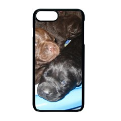Litter Of Lab Pups Apple iPhone 7 Plus Seamless Case (Black)