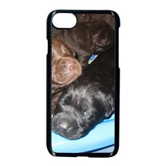 Litter Of Lab Pups Apple iPhone 7 Seamless Case (Black)