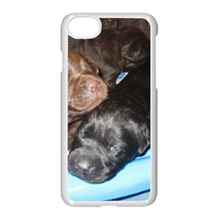 Litter Of Lab Pups Apple iPhone 7 Seamless Case (White)