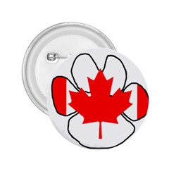 Mega Paw Canadian Flag 2.25  Buttons