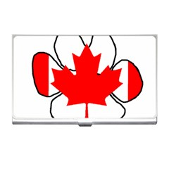 Mega Paw Canadian Flag Business Card Holders