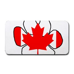Mega Paw Canadian Flag Medium Bar Mats