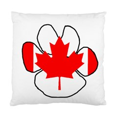 Mega Paw Canadian Flag Standard Cushion Case (Two Sides)