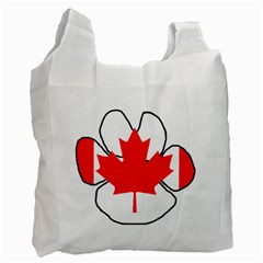 Mega Paw Canadian Flag Recycle Bag (Two Side)