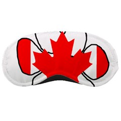 Mega Paw Canadian Flag Sleeping Masks