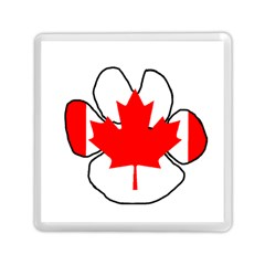 Mega Paw Canadian Flag Memory Card Reader (Square)