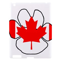 Mega Paw Canadian Flag Apple iPad 3/4 Hardshell Case
