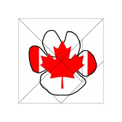 Mega Paw Canadian Flag Acrylic Tangram Puzzle (4  x 4 )