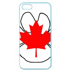 Mega Paw Canadian Flag Apple Seamless iPhone 5 Case (Color)